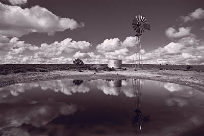 Ranch Pond New Mexico Poster