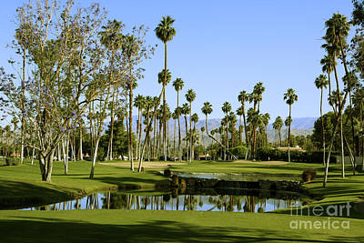 Rancho Mirage Golf Course Poster by Nina Prommer