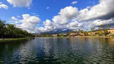 Rancho Santa Margarita Lake Poster