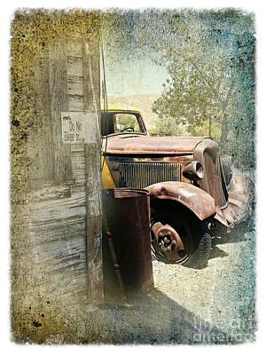 Randsburg Truck 3 Poster