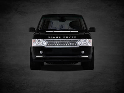 Range Rover Poster by Mark Rogan