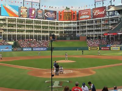 Rangers Ballpark In Arlington Poster