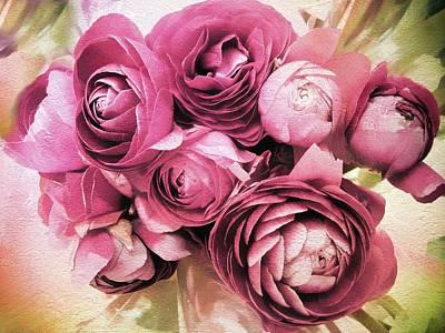 Ranunculus Bloom Poster
