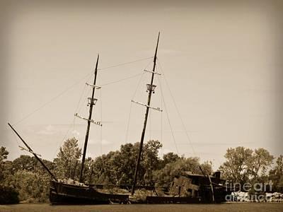 Rare Shipwreck Find Poster by John Malone
