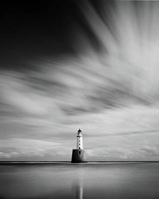 Rattray Head Lighthouse II Poster by Dave Bowman