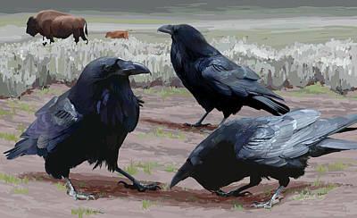 Raven Gathering Poster