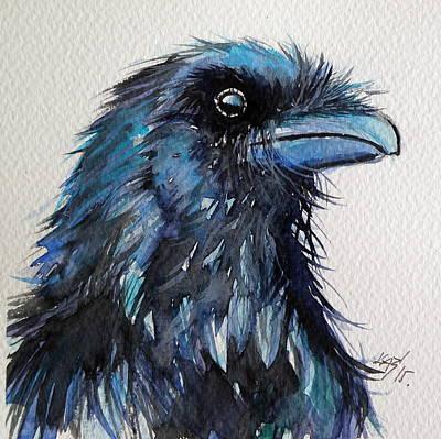 Raven I Poster by Kovacs Anna Brigitta