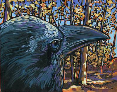 Raven Poster by Nadi Spencer