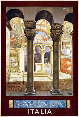 Ravenna, Travel Poster 1925 Poster