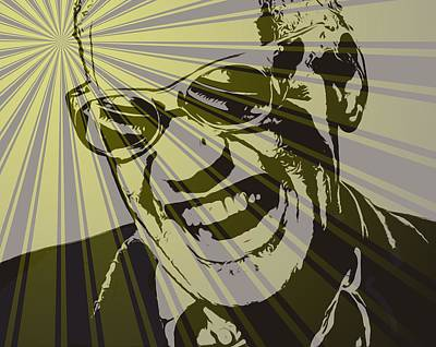 Ray Charles Poster Poster by Dan Sproul