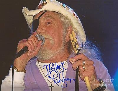 Ray Sawyer Autographed Poster by Pd