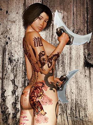 Razor Sharp Poster by Alexander Butler