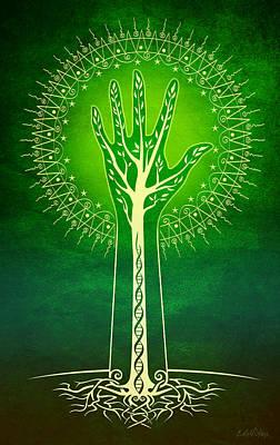 Reach Poster by Cristina McAllister