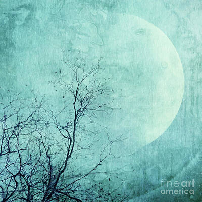 Reach For The Moon Poster by Priska Wettstein