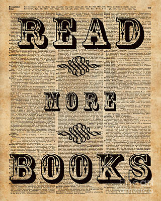 Read More Book Illustration Dictionary Art Library Home Decor Poster by Jacob Kuch