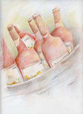 Ready For Tasting Poster by Barbara Jacobs