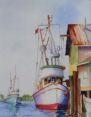 Ready To Sail Poster by Frank Zampardi