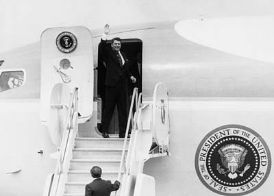 Reagan Presidency. Us President Ronald Poster by Everett