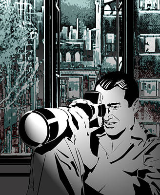Rear Window Poster by Ryan Burton