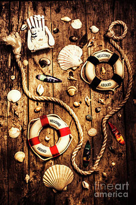 Rearranging The Deck Chairs Poster by Jorgo Photography - Wall Art Gallery