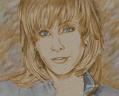 Reba Mcentire Poster by Carole Jacobs