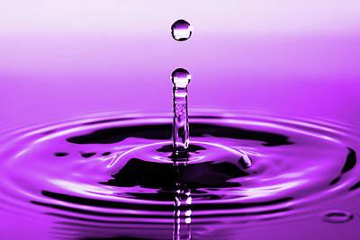 Rebounding Droplet Poster