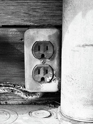 Receptacle Poster by Tom Druin