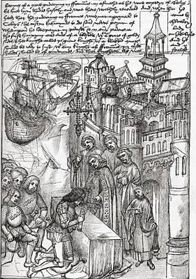 Reception Of Richard De Beauchamp, Earl Poster