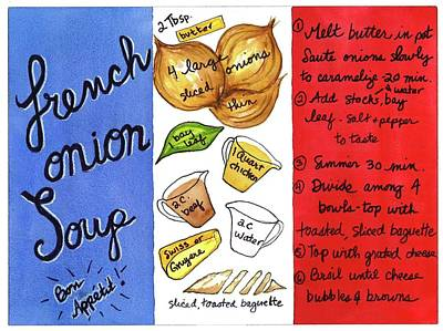 Recipe French Onion Soup Poster