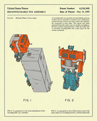 Reconfigurable Toy 1985 Poster