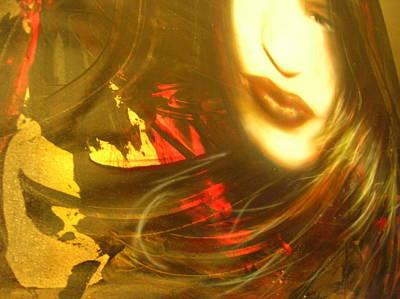 Red Anima... Poster by Alessandro Rinaldi