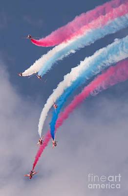 Red Arrows Display Poster