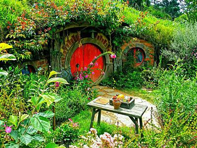 Red Door Hobbit Home Photo Poster