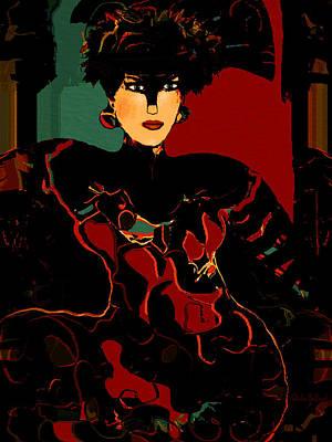 Red Elegance Poster