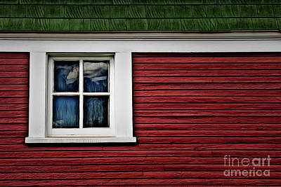 Poster featuring the photograph Red Green by Brad Allen Fine Art