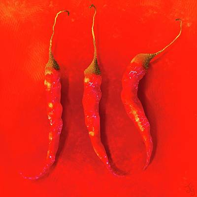 Red Hot Chili Pepper II Poster