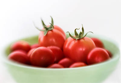 Red Juicy And Home Grown Tomatoes Poster