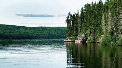 Red Lake Ontario Poster