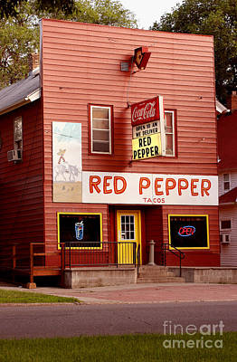 Red Pepper Restaurant Poster