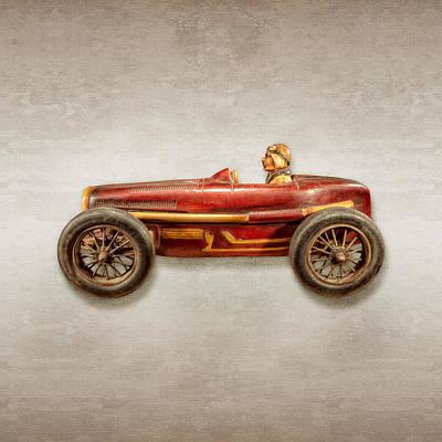 Red Racer Left Poster