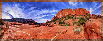 Red Rock Spirit 2 Poster by ABeautifulSky Photography