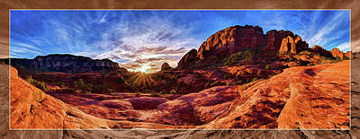 Poster featuring the photograph Red Rock Spirit by ABeautifulSky Photography
