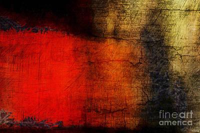 Red Tide Poster by Edward Fielding