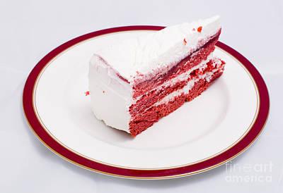 Red Velvet Cake Poster by Massimo Lama