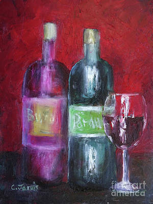 Red Wine Art Poster