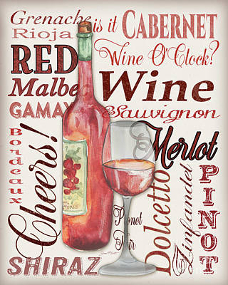 Red Wine-jp3975 Poster