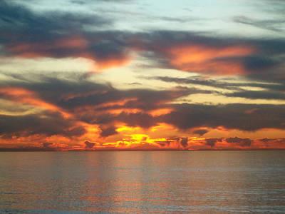 Redondo Beach Sunset Poster