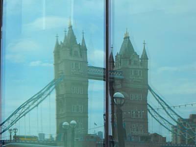 Reflection Tower Bridge Poster