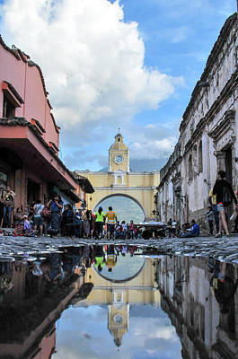 Reflections In Antigua-ty Poster by Norman Coleman III