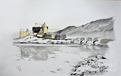Reflections Of Time Eilean Donan Poster